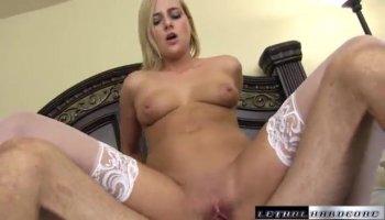 Broads in stockings get banged in ffm porn sandeacuteance
