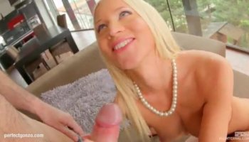 Shy girl Lyla Storm gets so horny that forgets about video tape