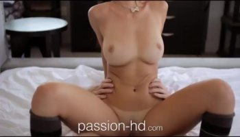 Busty mommy fucking and taking facial cumshot