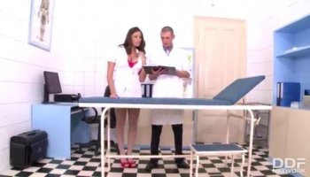 Russian babysitter chicks play secret love and eating bodies