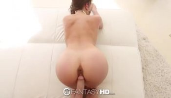 Big ass babe banged by big cock outdoors