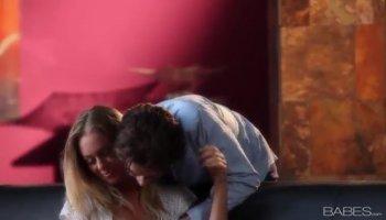Darling receives her wet crack spooned on the rug